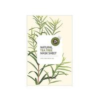 Deoproce - купить Маска тканевая с экстрактом чайного дерева Natural Tea Tree Mask Sheet, 21 мл на Deoprocemarket.ru